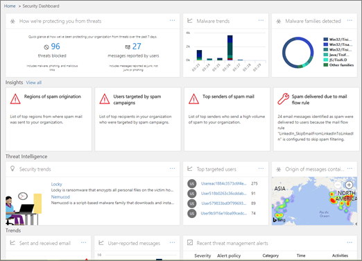 Office 365 threat investigation and response capabilities in
