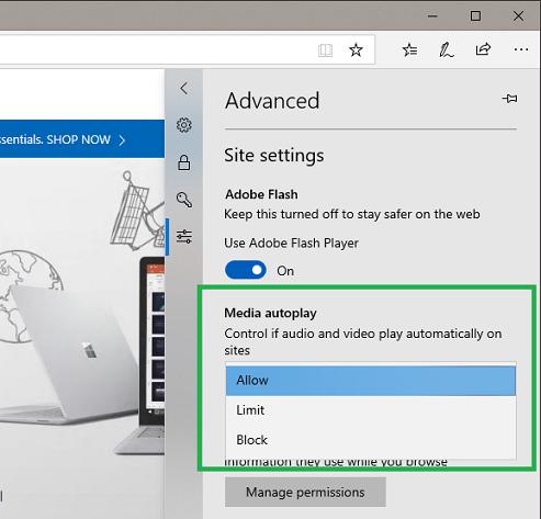 Dev guide - Autoplay policies - Microsoft Edge Development