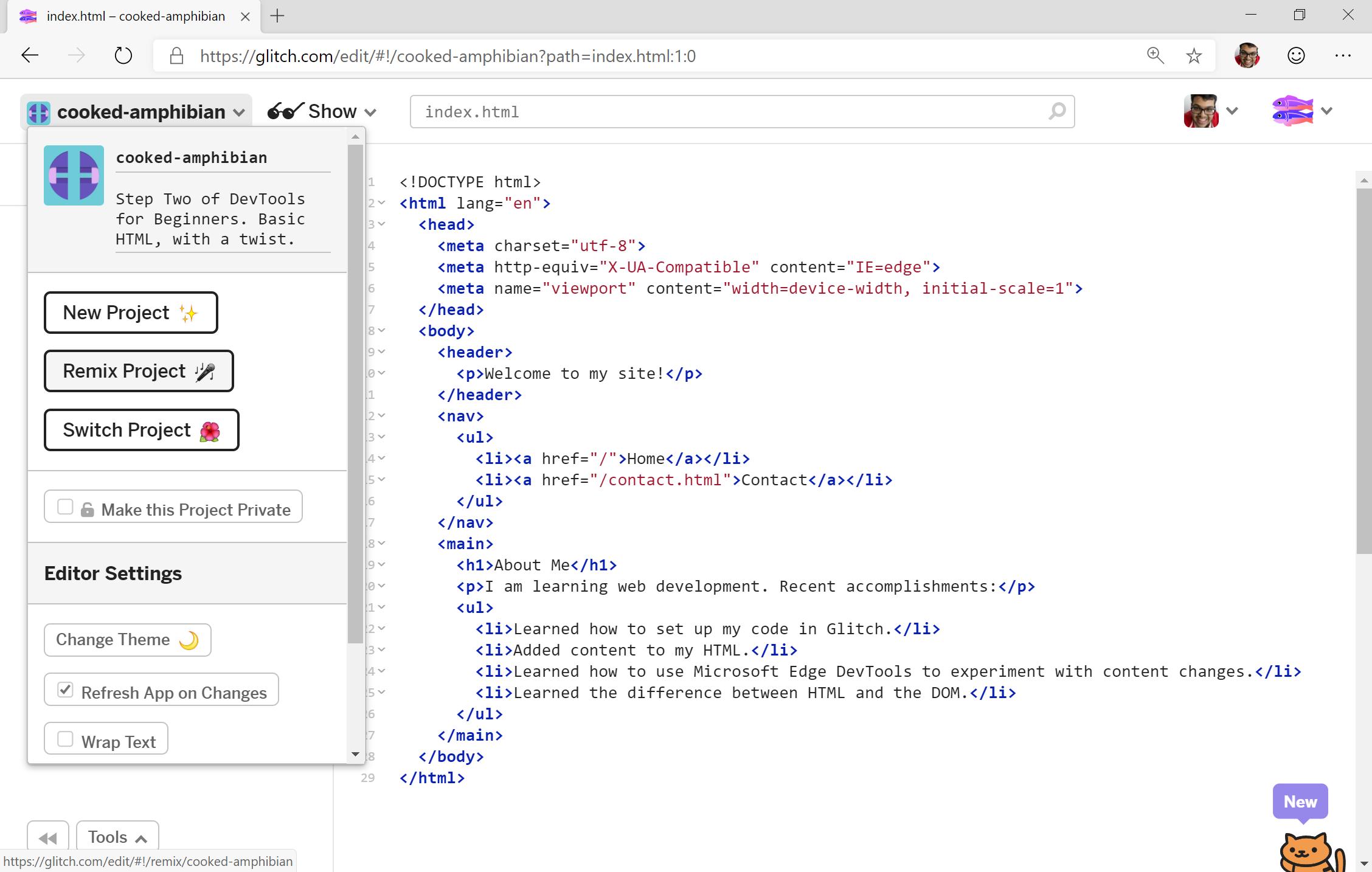 DevTools for Beginners - Microsoft Edge Development