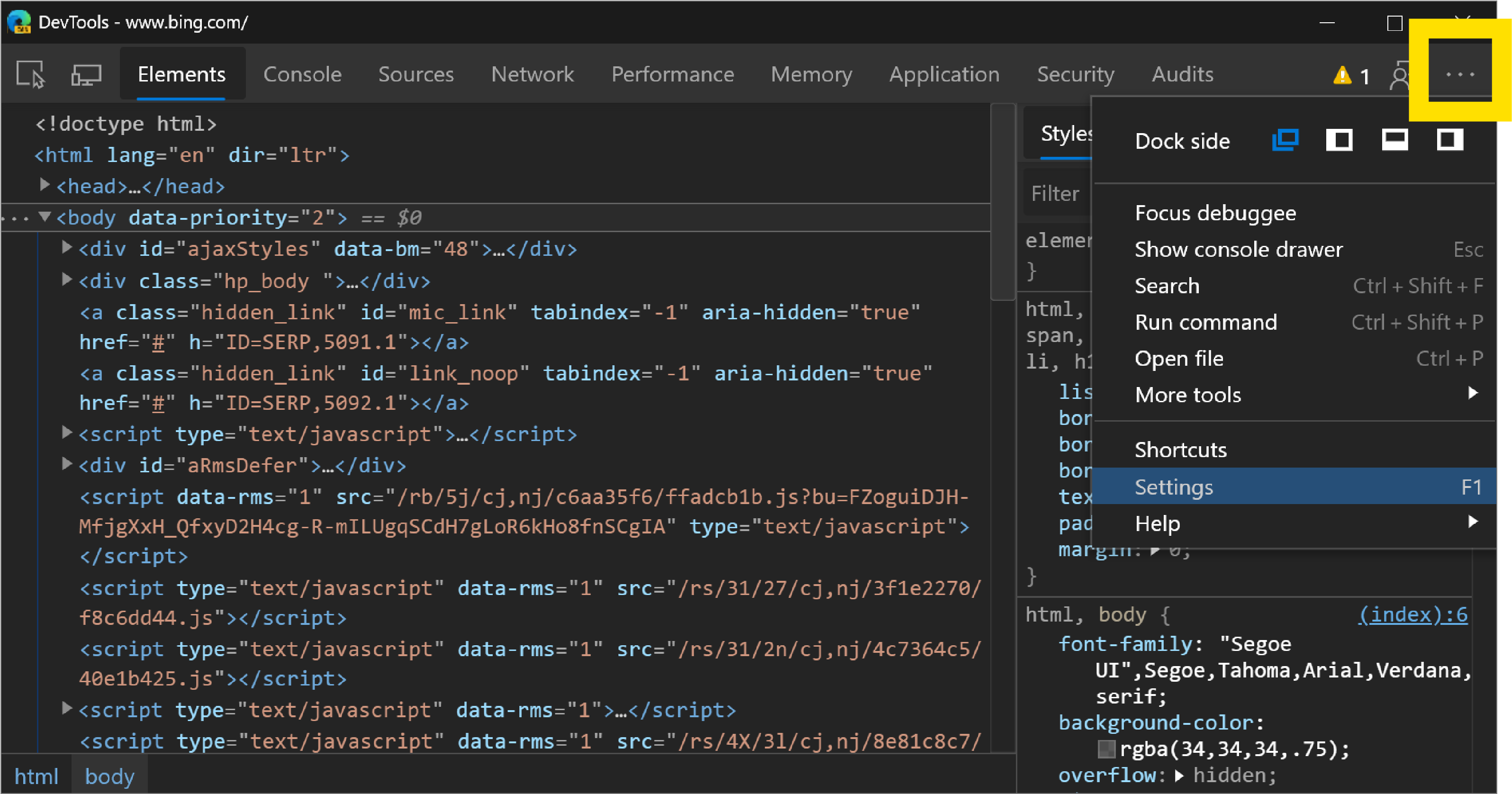 What's new in the Microsoft Edge (Chromium) DevTools in March 2019