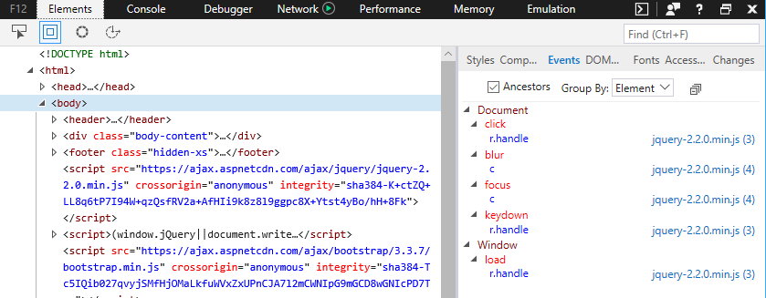 DevTools in EdgeHTML 16 - Microsoft Edge Development