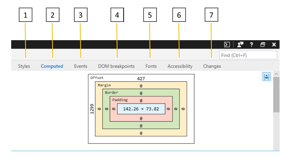 DevTools - Elements - Microsoft Edge Development | Microsoft Docs