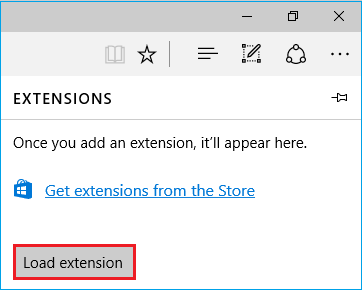Adding and removing extensions - Microsoft Edge Development