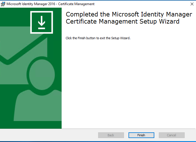 Deploying Microsoft Identity Manager Certificate Manager | Microsoft ...