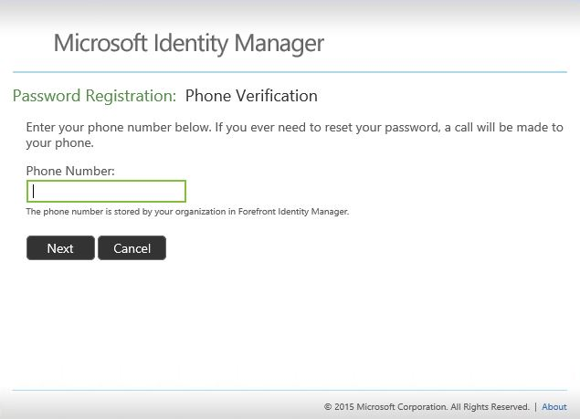 Working with Self-Service Password Reset   Microsoft Docs