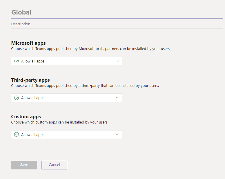 Manage app permission policies in Microsoft Teams