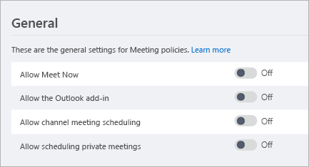Use the Microsoft Teams Meeting add-in in Outlook