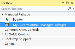 How to package UI controls with NuGet | Microsoft Docs