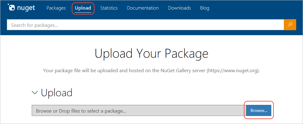 How to Publish a NuGet Package | Microsoft Docs