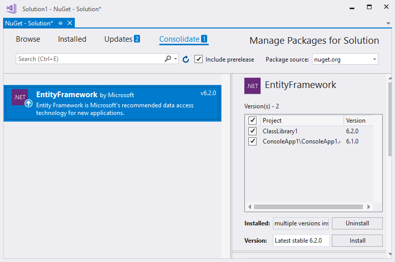 manually install nuget package offline