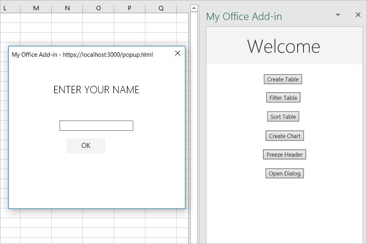 Excel add-in tutorial - Office Add-ins | Microsoft Docs