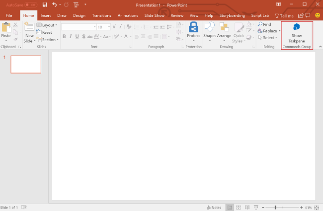 Build your first PowerPoint task pane add-in - Office Add