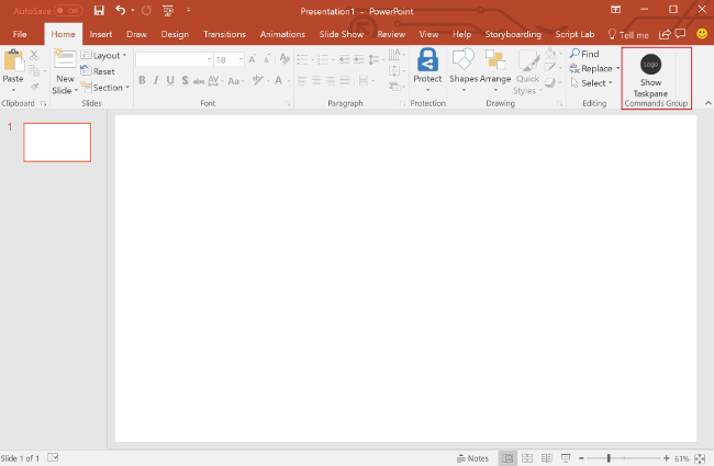 Build Your First Powerpoint Add In Office Add Ins Microsoft Docs