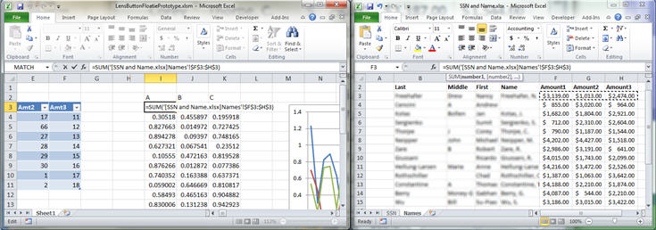 Programming for the Single Document Interface in Excel