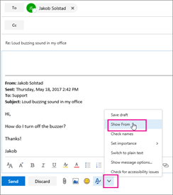 Send email as a distribution list in Office 365 | Microsoft Docs