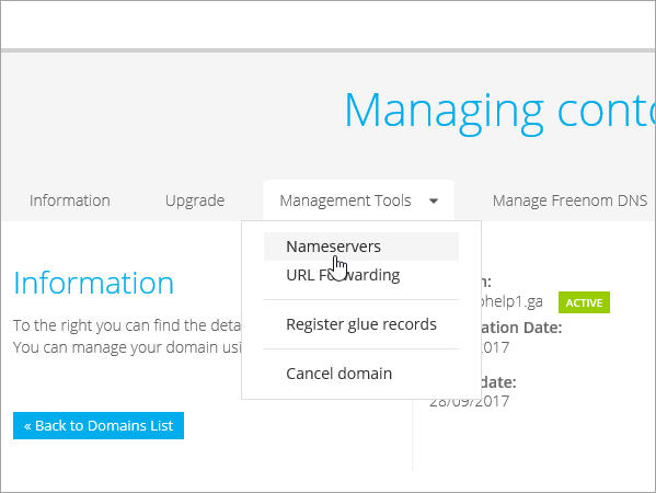 Create DNS records at Freenom for Office 365 | Microsoft Docs