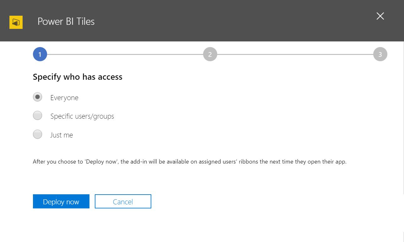 Manage deployment of add-ins - Vidensdatabase - Kandekore Ltd