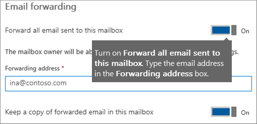 Add the email address of the current employee.