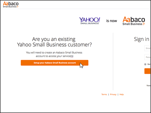 access my yahoo email through outlook