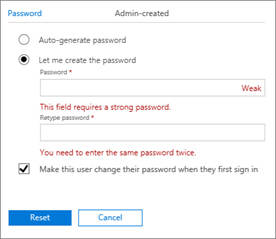 microsoft outlook username and password error