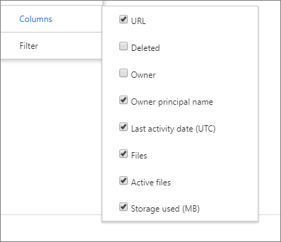 Office 365 Reports in the admin center - OneDrive for