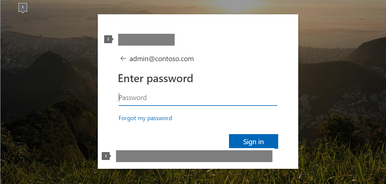 Add your company branding to Office 365 Sign In page