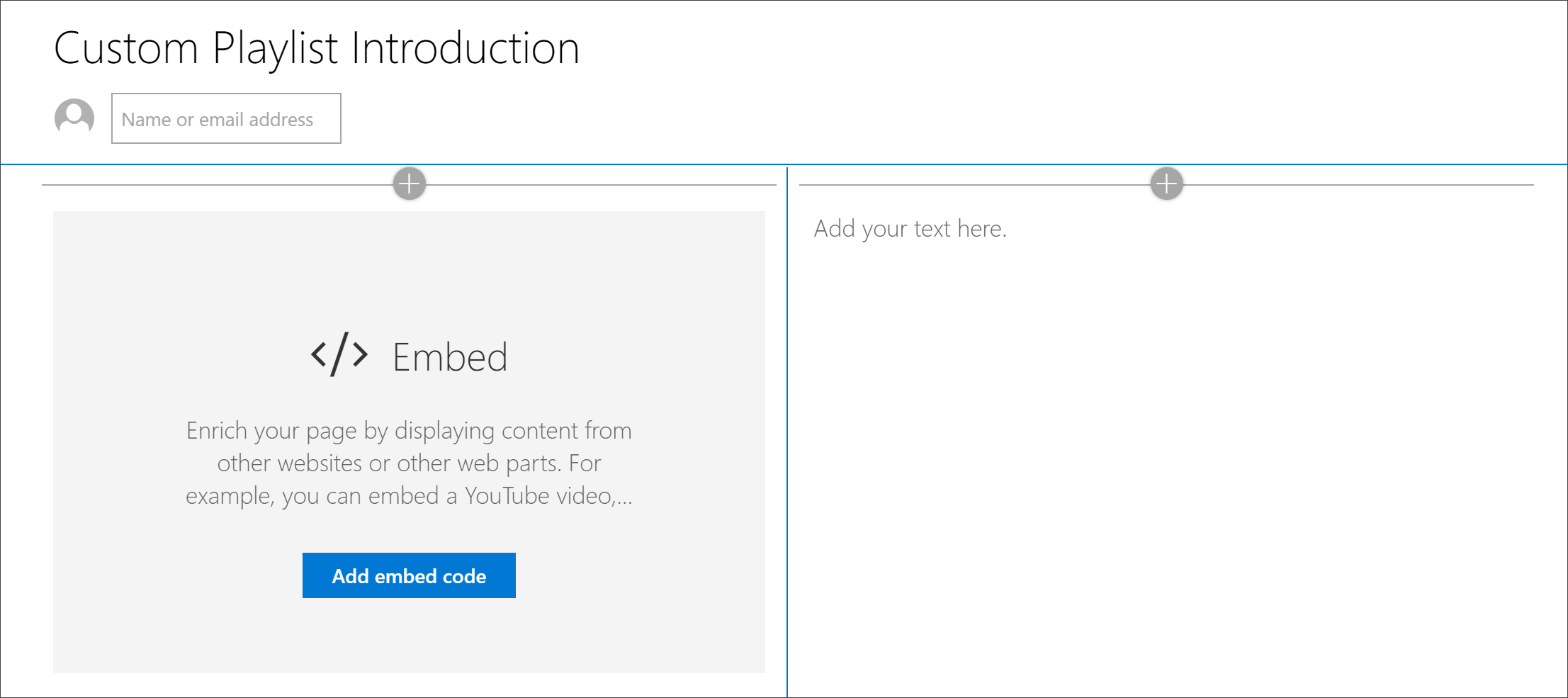Create SharePoint pages for playlists | Microsoft Docs