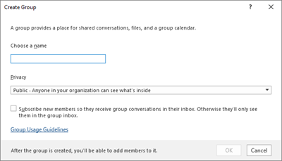 Manage Office 365 Groups with PowerShell | Microsoft Docs