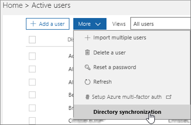 Fixing problems with directory synchronization for Office