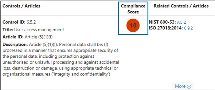 Use Compliance Manager to help meet data protection and