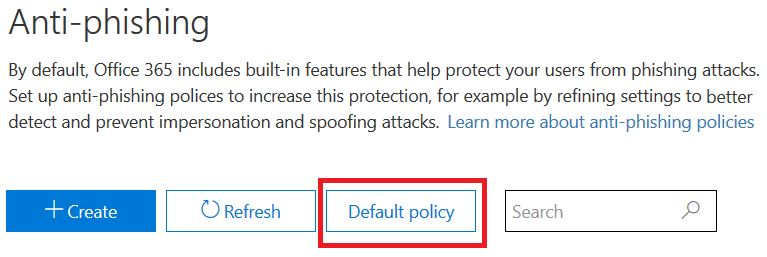Anti-spoofing protection in Office 365 | Microsoft Docs