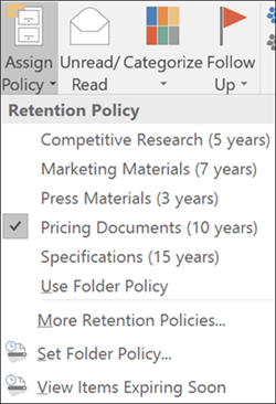 Overview Of Retention Labels Microsoft Docs