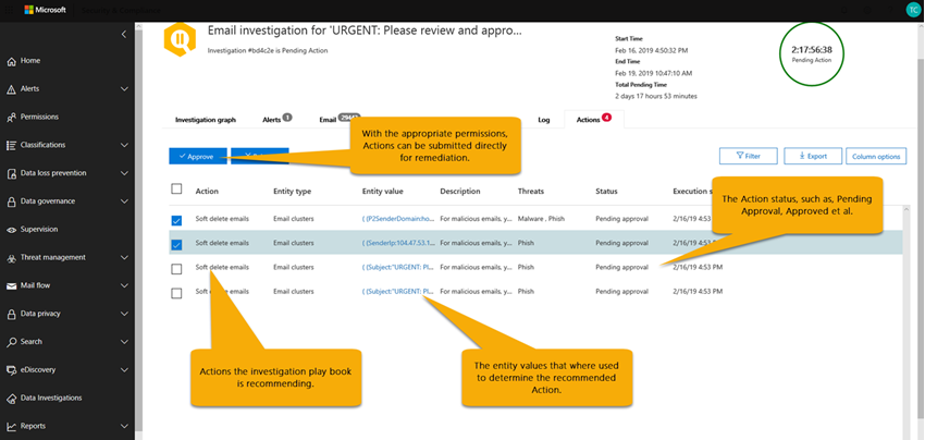 Automated Investigation and Response (AIR) with Office 365