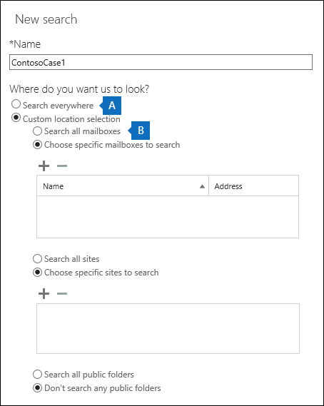 Run a Content Search in the Security & Compliance Center   Microsoft