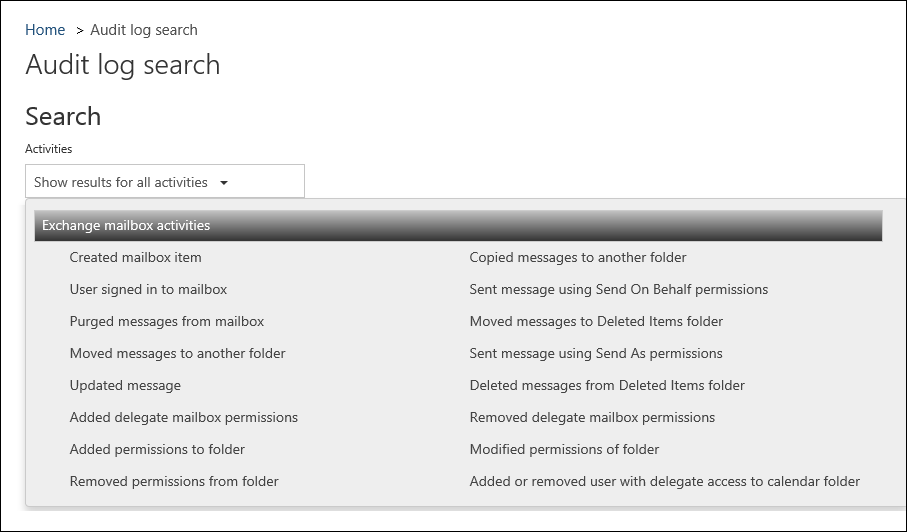 Enable Mailbox Auditing In Office 365 Microsoft Docs