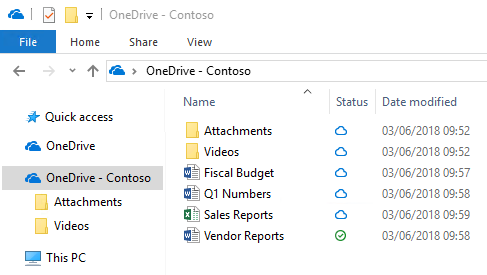 OneDrive QuickStart guide for small businesses | Microsoft Docs