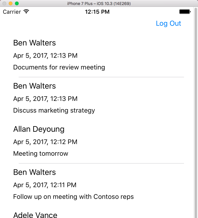 How to use Outlook REST APIs in an iOS app - Outlook