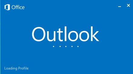 Loading Outlook