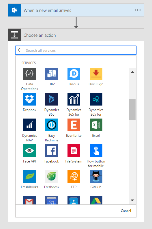 get started microsoft flow microsoft docs
