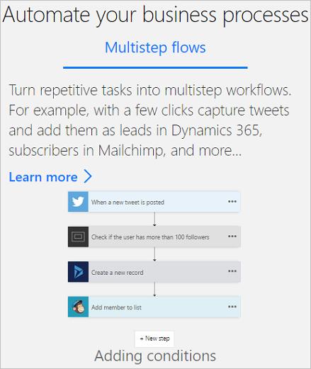 Get Started Microsoft Flow Microsoft Docs