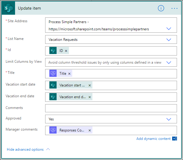 easily automate approval workflows microsoft flow microsoft docs