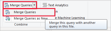 Select Merge Queries
