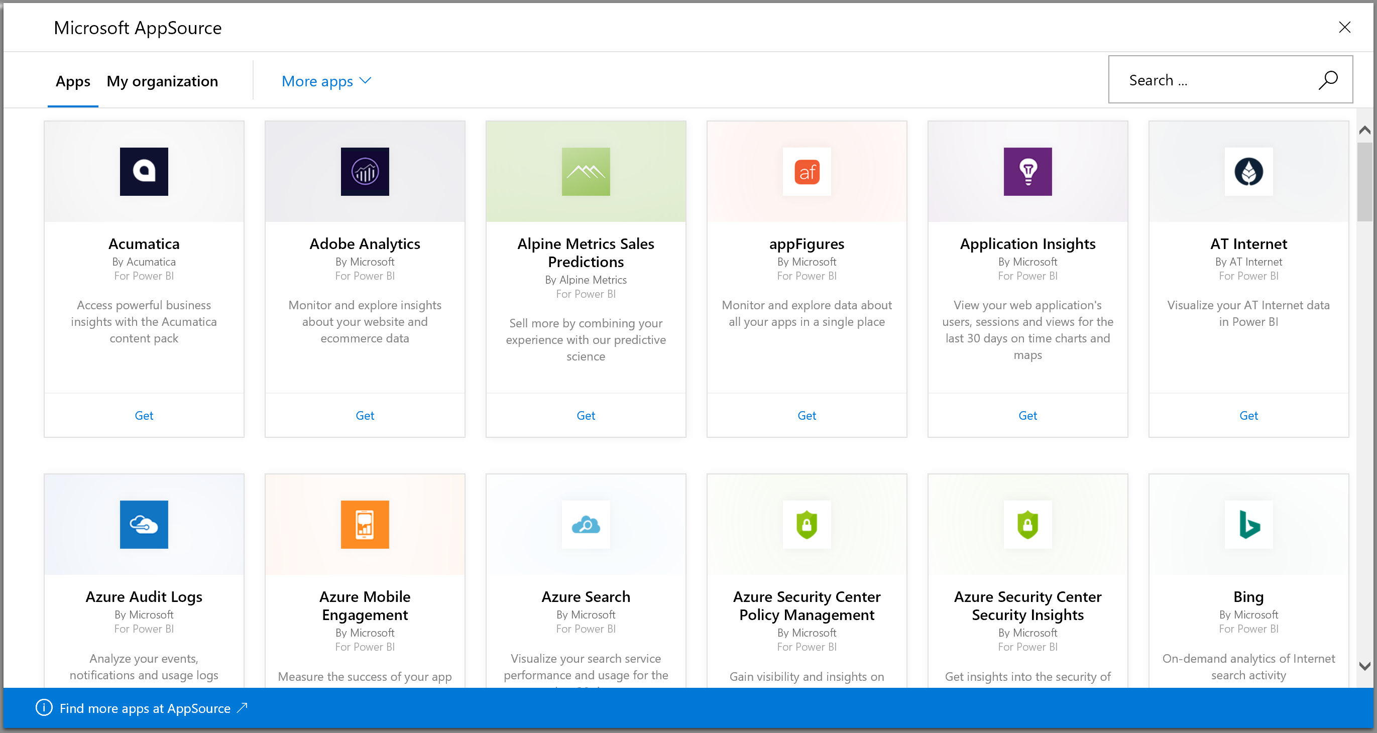 AppSource apps
