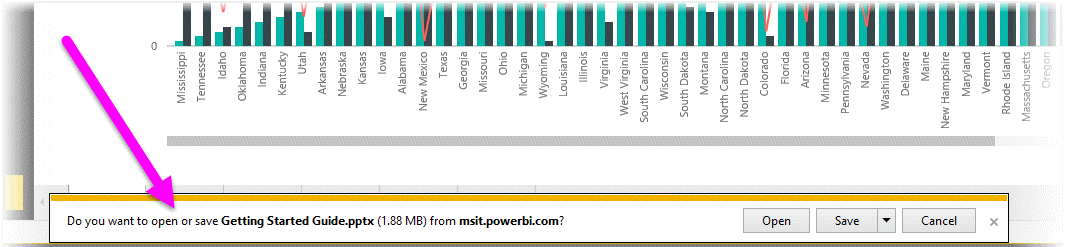 Export reports from Power BI to PowerPoint - Power BI | Microsoft Docs