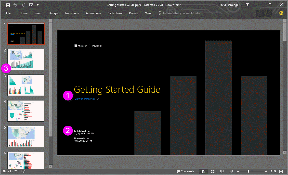 export reports from power bi to powerpoint preview power bi