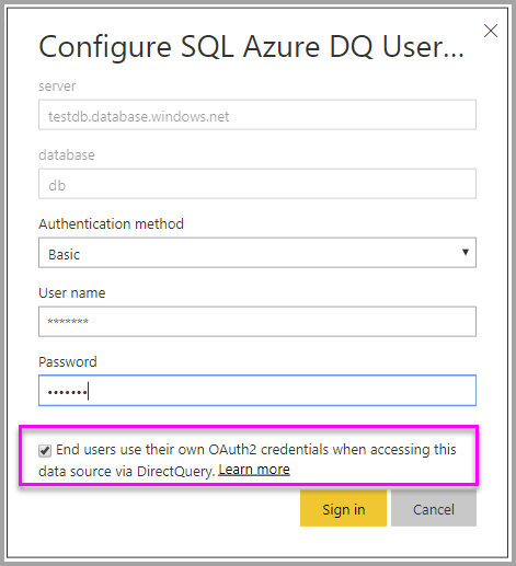 Use row-level security with Power BI embedded content