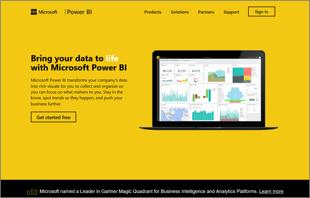 Exploring Data Power Bi Microsoft Docs Indicate To The Board Mode Selection In Following Order Topics Well Explore Service And Show You How It Can Turn Your Business Intelligence Into Insights A