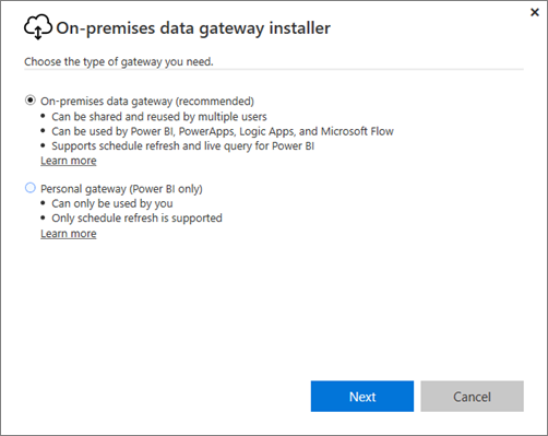 on premises data gateway power bi microsoft docson prem data gateway install powerbi