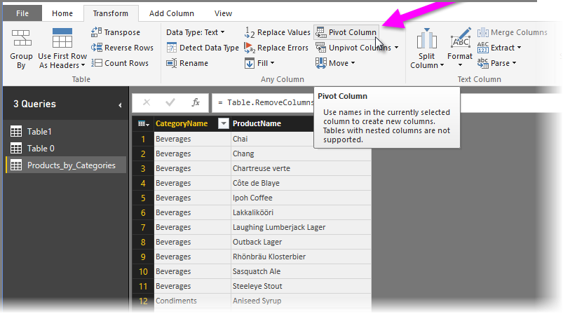 Common query tasks in Power BI Desktop - Power BI