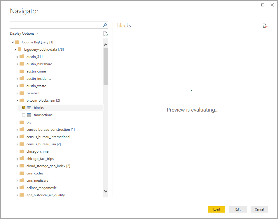 Connect to a Google BigQuery database in Power BI Desktop - Power BI